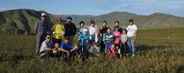モンゴル植林ツアー